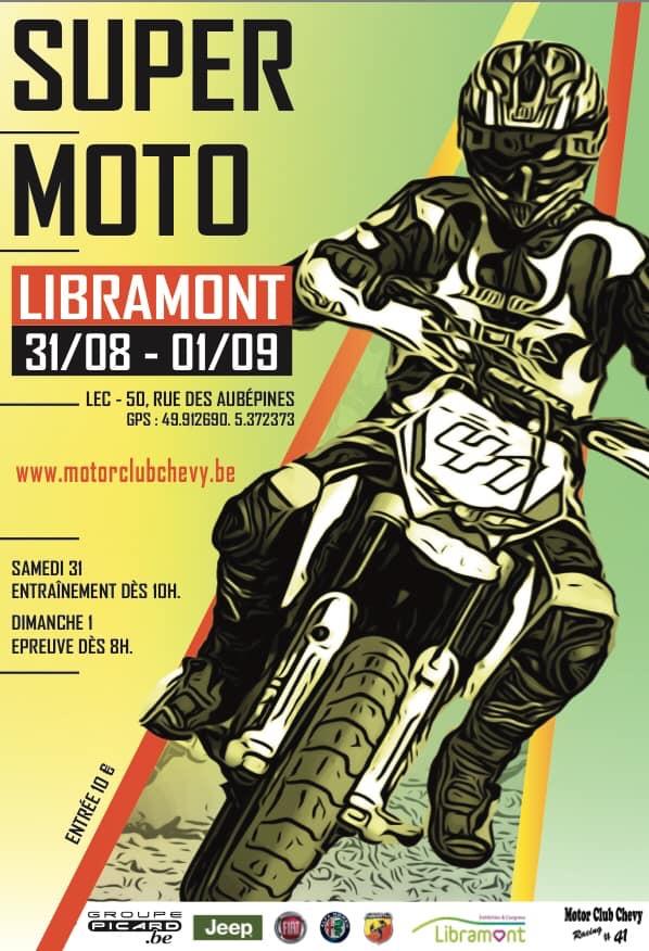 Le Supermoto de Libramont 2019, c'est parti !