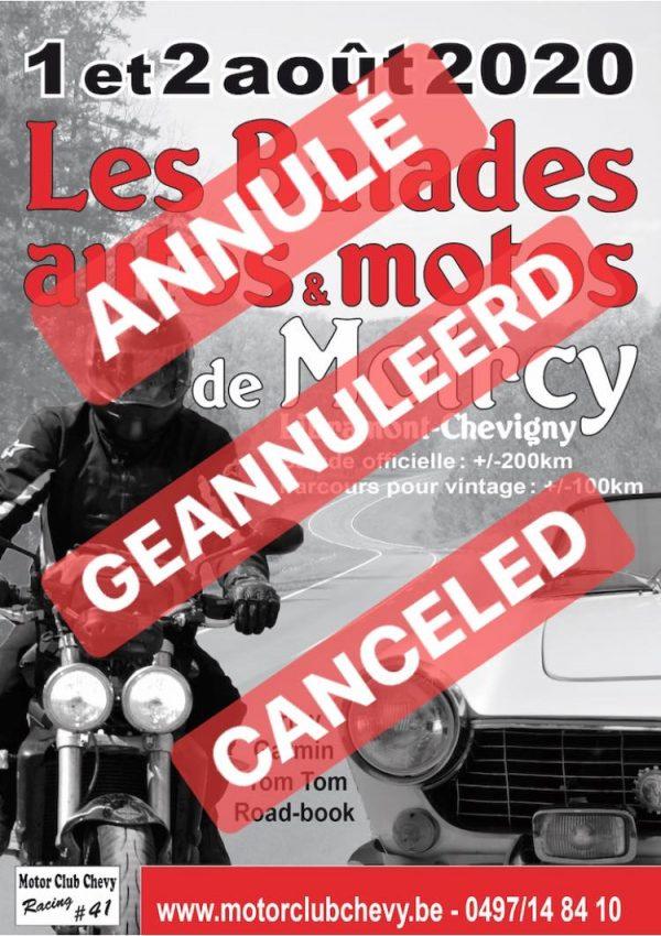 """Annulé – La 8ème édition des """"Balades de Moircy"""" – Rendez-vous en 2021 !"""