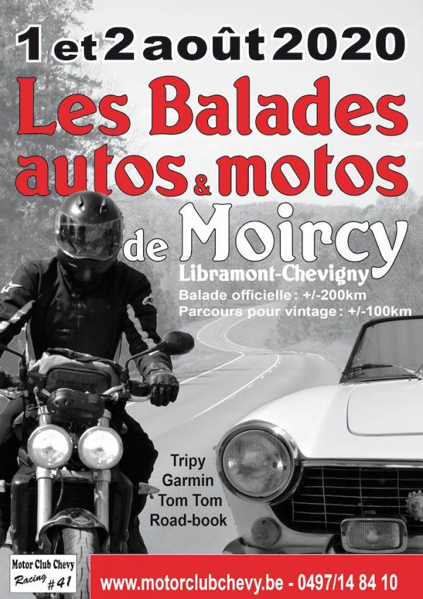 """La 8ème édition des """"Balades de Moircy"""""""